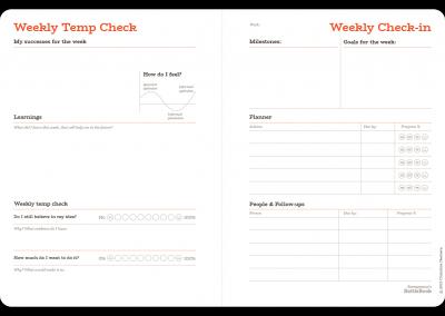 Weekly Temp Check